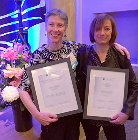 Alison Hoens and Jo Moorhen (Physiotherapists)